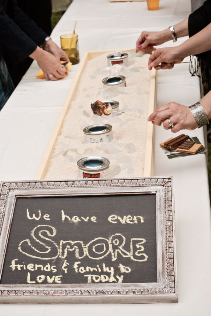 These s'more's look delicious and all...but we are craving this chalkboard! Learn how to make your own here.