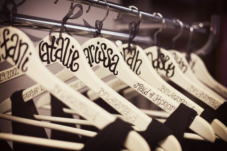 What a great personal touch for your bridal party. Find out how to make these yourself here.