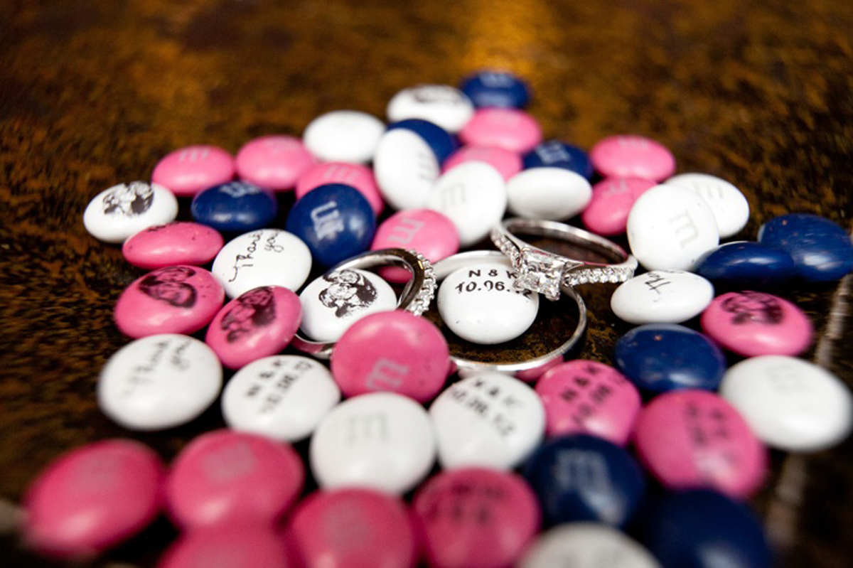 Funky Personalized M&M Wedding Favors Image - Wedding Flower ...